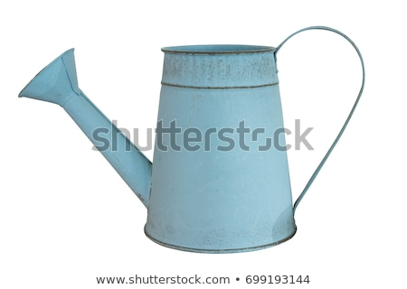 Old watering can Stock photo © Supertrooper