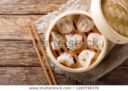 steamed dumplings stock photo © bbbar