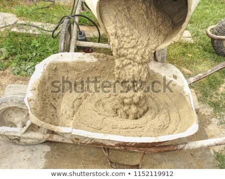 artesão · cimento · edifício · construção · trabalhador - foto stock © photography33