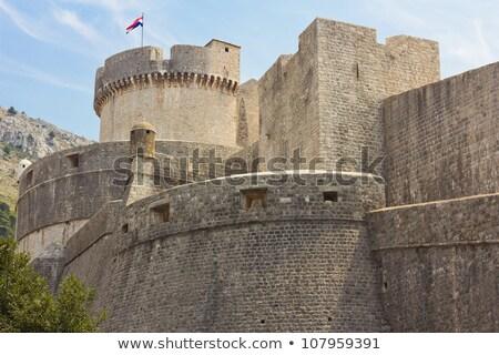 город стен Дубровник Хорватия ЮНЕСКО Мир Сток-фото © vlad_star