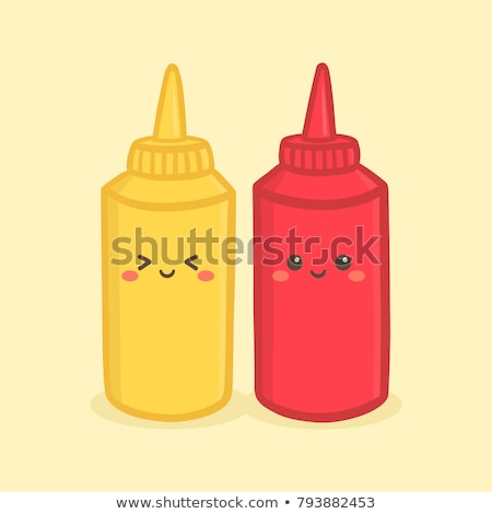 Funny Mustard and Ketchup Stock photo © pcanzo