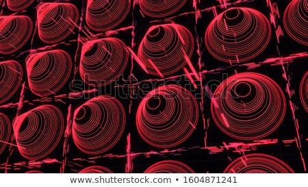 Kegel ring witte abstract vector kunst Stockfoto © robertosch