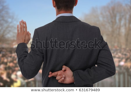 Politician's Finger Stock photo © ozgur