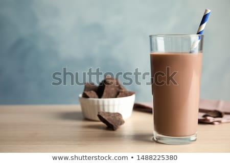 Zdjęcia stock: Czekolady · mleka · stałego · łyżka · biały · żywności
