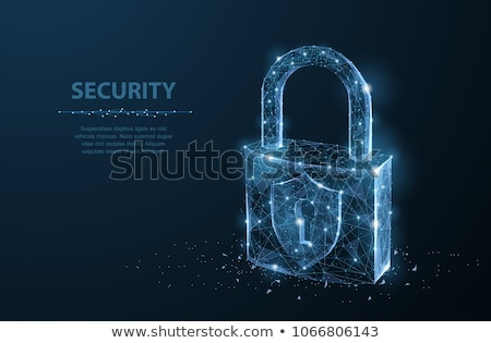 Security Lock With Keyhole Stock photo © Lightsource