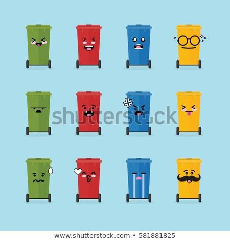 Shy Recycle bin Stock photo © sahua