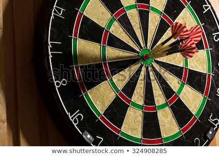 Dart Board Bulls Eye Stock photo © ArenaCreative