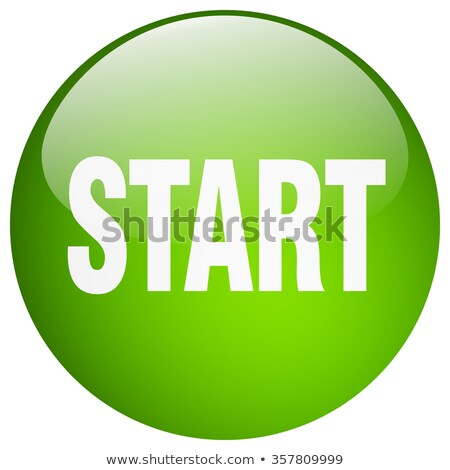 Start - Green Button Stock photo © iqoncept