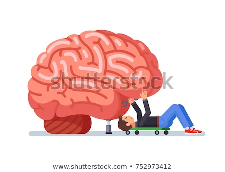 мозг · медицинской · исследований · науки · врач · направлении - Сток-фото © lightsource