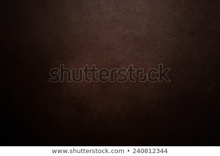 dark brown leather seat upholstery Stock photo © antonihalim