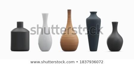 Vintage ваза бронзовый орнамент антикварная стиль Сток-фото © Bumerizz