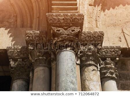 Entrada igreja Jerusalém Israel cidade Foto stock © AndreyKr