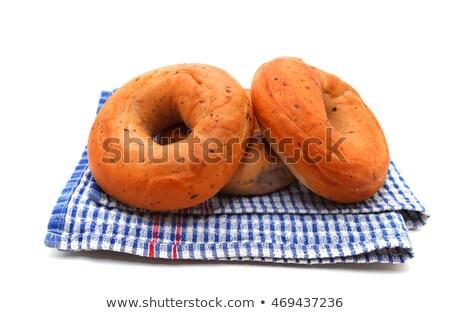 Multi-Grain Bagels Stock photo © songbird