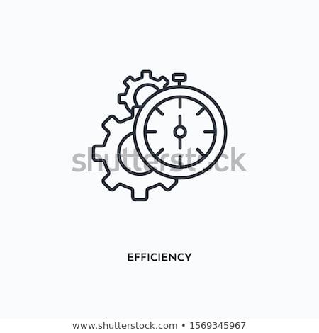enérgico · eficiência · alto · 3d · render · sete - foto stock © chrisdorney