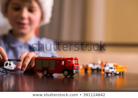 Little boy facing police enforcement Stock photo © VOOK