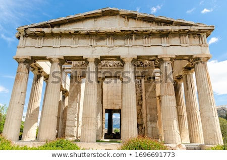 temple of hephaestus stock photo © sirylok