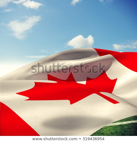 Low angle view of a Canadian flag Stock photo © bmonteny