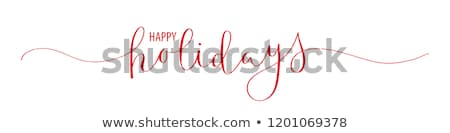 thanksgiving holiday card stock photo © beholdereye