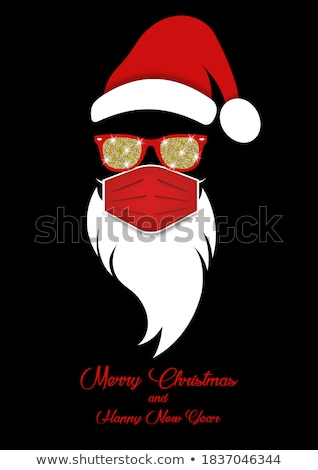 santa claus wearing sunglasses stock photo © hasloo