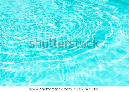 Blauw · water · zwembad · zon · licht - stockfoto © stevanovicigor