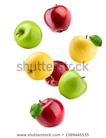 яблоко рубленый вектора изображение лист Сток-фото © Designthrone