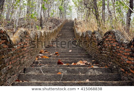 old stone stairway stock photo © petrmalyshev