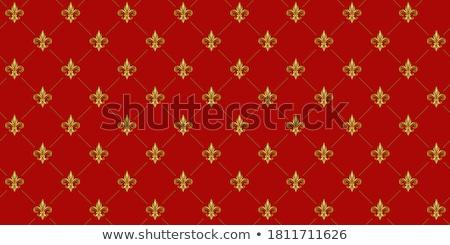 Antik szimbólum francia licencdíj liliom dekoráció Stock fotó © tilo