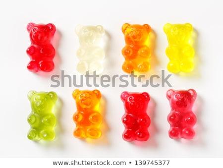 красный Медведи белый продовольствие дети Сток-фото © peter_zijlstra