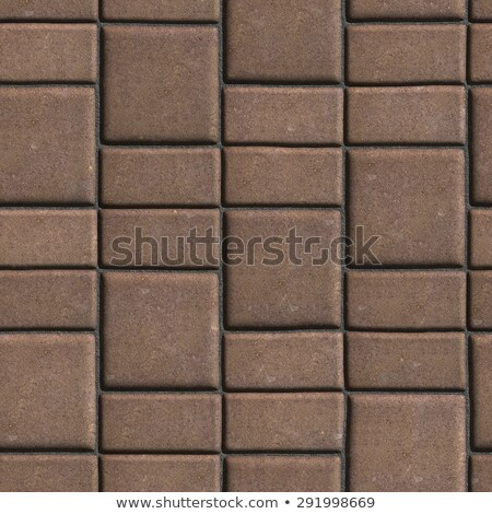 Brown Paving Slabs that Mimic Natural Stone.  Stock photo © tashatuvango