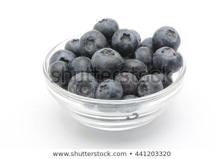 Bleuets blanche bol coloré bleu peuvent Photo stock © jaffarali