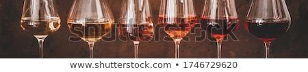 Stemmed wine glasses Stock photo © photosebia