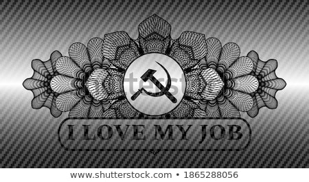 I love ussr sign Stock photo © MikhailMishchenko