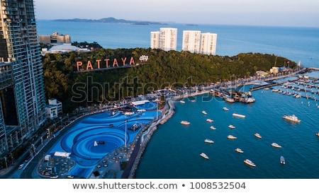 Pattaya beach view. Thailand Stock photo © dashapetrenko