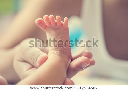 Baby zdrowia dzieciństwo choroba niemowlę pacyfikator Zdjęcia stock © Lightsource