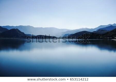 Göl dağlar park Karadağ su manzara Stok fotoğraf © Steffus