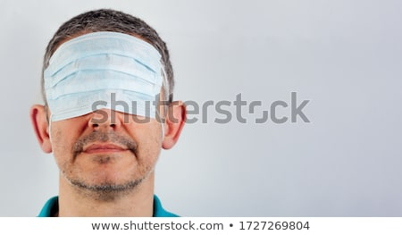 mask with a blindfold Stock photo © nito