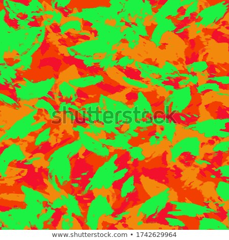 colorful with stripes maple leaves eps 8 stock photo © beholdereye