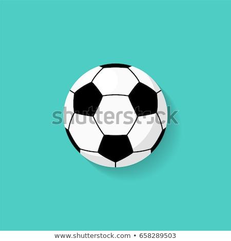 soccer · ball · trofeo · illustrazione · bianco · calcio · sfondo - foto d'archivio © nezezon