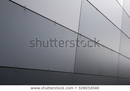Example of modern architecture, apartment building detail Stock photo © stevanovicigor