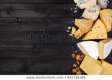 Formaggio tipo gorgonzola tagliere alimentare formaggio nessuno Foto d'archivio © Digifoodstock