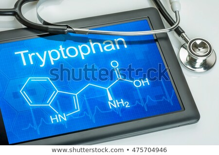 Tablet chimica formula computer medico salute Foto d'archivio © Zerbor
