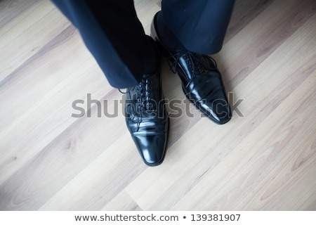Negocios zapatos piso textura hombre Foto stock © fuzzbones0