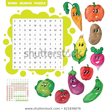 パズル 言葉 検索 パズルのピース 建設 おもちゃ ストックフォト © fuzzbones0