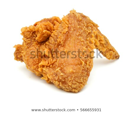 жареная курица крыло иллюстрация фон искусства обеда Сток-фото © bluering