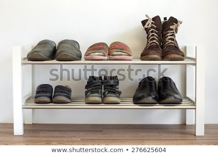 Six pairs of slippers Stock photo © bluering