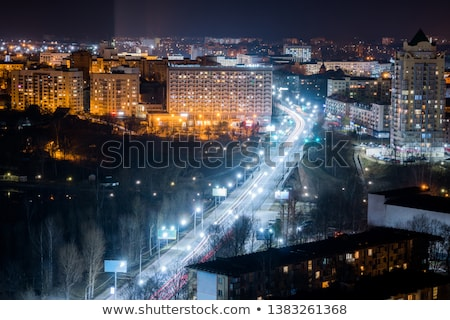 rue · lumière · ciel · technologie · bleu - photo stock © coprid