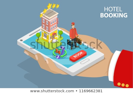Journey online reservation design Stock photo © sdCrea
