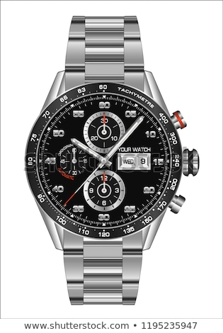 Illustration of Luxury man watch Stock photo © kayros
