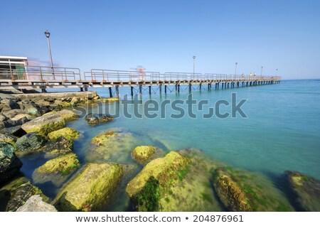 Pier at Enaerios Area. Limassol, Cyprus Stock photo © Kirill_M
