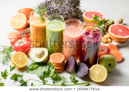 fruit and vegetable juicesmoothie stock photo © m-studio